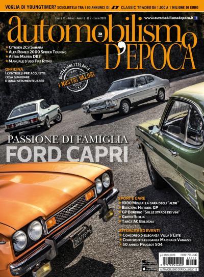 Ford Capri, la coupé che fa battere il cuore agli appassionati dei Seventies