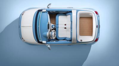 """Torna la 500 """"Spiaggina"""": Garage Italia e Fiat festeggiano i suoi 60 anni"""