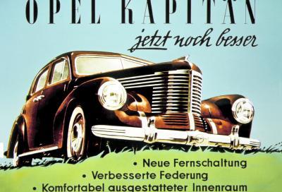 L'ammiraglia Opel compie 80 anni: buon compleanno Kapitän!