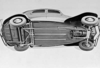 """Le Citroën """"tutto acciaio"""" e la monoscocca"""