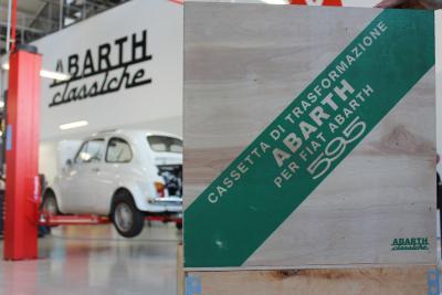 Le auto Abarth di FCA Heritage partecipano alla Targa Florio