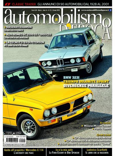 BMW 323 e Triumph Dolomite Sprint, berline sportive così simili e così diverse