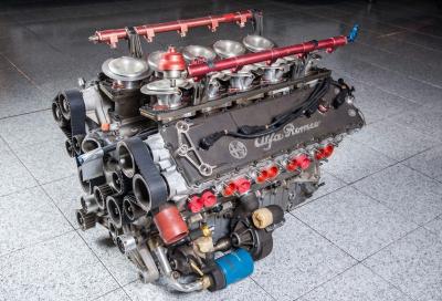 """All'asta """"Racing & Sports Cars"""" a Milano AutoClassica anche un motore Alfa Romeo Pro-Car"""