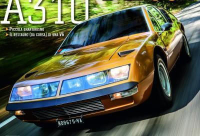 L'altra Alpine-Renault protagonista: l'A310 in copertina di Automobilismo d'epoca di novembre
