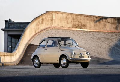 Tipico esempio di ottima progettualità: la piccola Fiat 500 alla conquista della Grande Mela