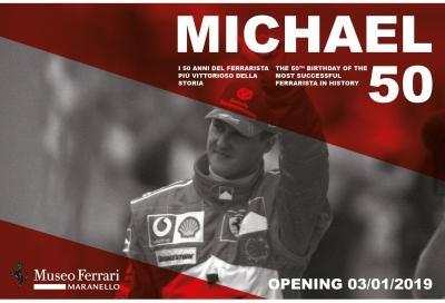 A Maranello la mostra per i 50 anni di Schumacher