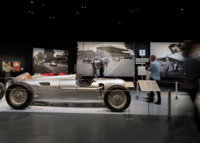 Una mostra ricorda l'epopea del circuito del Bremgarten