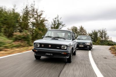 Due generazioni di utilitarie Fiat ad alte prestazioni: 127 Sport 70 HP vs Uno turbo i.e.