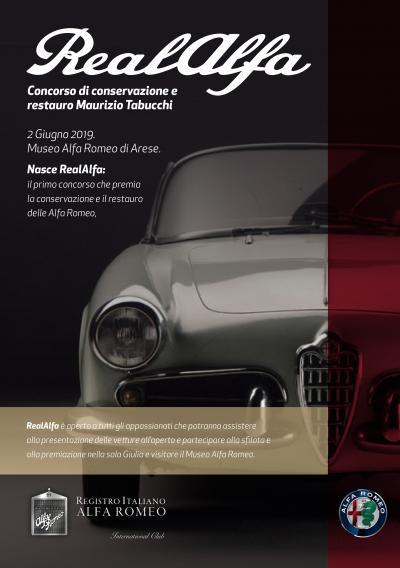 A RealAlfa premiate le Alfa Romeo restaurate con criterio conservativo