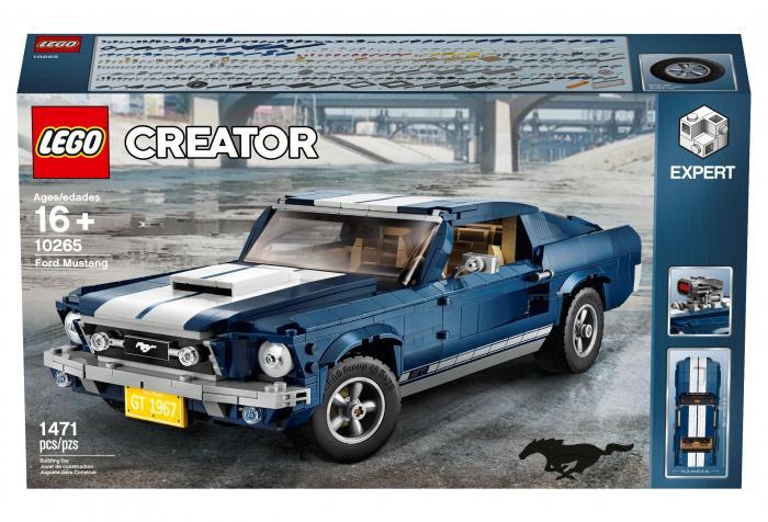 La Ford Mustang di mattoncini LEGO®: il piccolo sogno americano