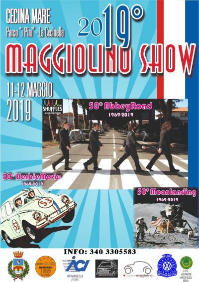"""A Marina di Cecina il """"19° Maggiolino Show"""""""