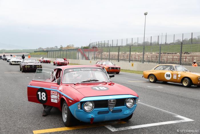 È partita al Mugello l'Alfa Revival Cup 2019