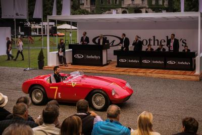 Concorso Villa d'Este-RM Sotheby's: l'eleganza premia anche le vendite