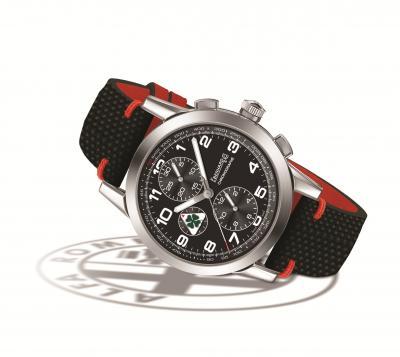 """Eberhard & Co. presenta il cronografo """"Quadrifoglio Verde"""", in onore di Alfa Romeo"""