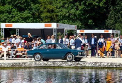 """Concorso d'Eleganza """"Chantilly Arts & Elegance"""" Premio ASI ad un'Alfa Romeo 1750 GTV del 1968"""