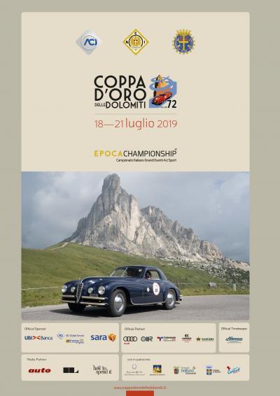 Edizione internazionale e concorso alla Coppa d'Oro delle Dolomiti