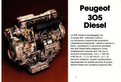 Peugeot 305: il Diesel per tradizione