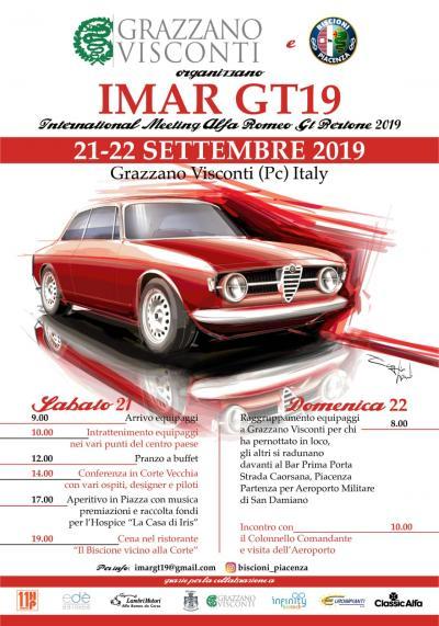 Raduno di Alfa Romeo Giulia GT a settembre
