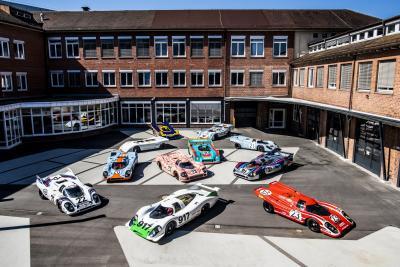 """""""I colori della Velocità"""": in mostra i 50 anni della Porsche 917"""