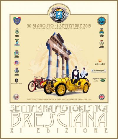"""60 VEICOLI """"CENTENARI"""" PER LA RIEVOCAZIONE DEL PRIMO MOTOR SHOW ITALIANO"""