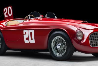 """Il CMAE dà il benvenuto al """"Celebration Tour"""" dedicato alle Ferrari d'epoca carrozzate Touring"""