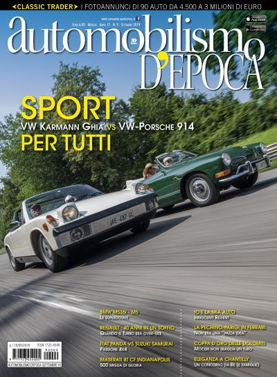 Karmann Ghia e Porsche 914, sportive popolari con l'anima del Maggiolino