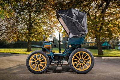 "La Fiat 3½ hp del 1899 alla ""London to Brighton"""