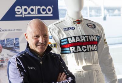 Sparco e Martini Racing tornano insieme come ai tempi di Miki Biasion