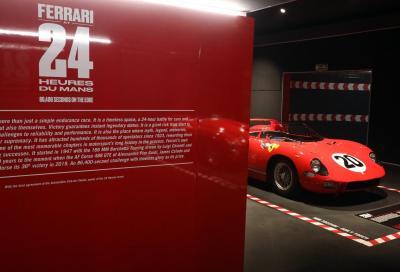 Le vittorie Ferrari a Le Mans in mostra al museo di Maranello