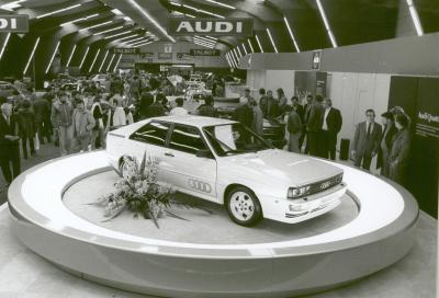 40 anni fa al Salone di Ginevra appare l'Audi 4