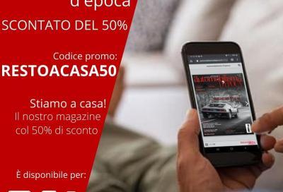 Automobilismo d'Epoca digitale con il 50% di sconto