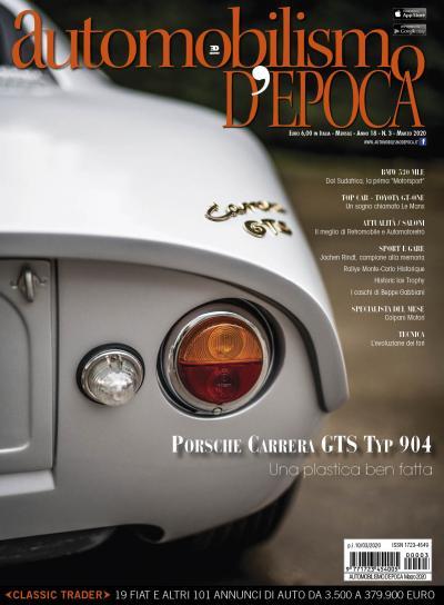 Una plastica ben fatta: la storia della Porsche 904
