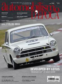 La Ford Cortina Lotus in copertina sul nuovo numero di Automobilismo d'epoca