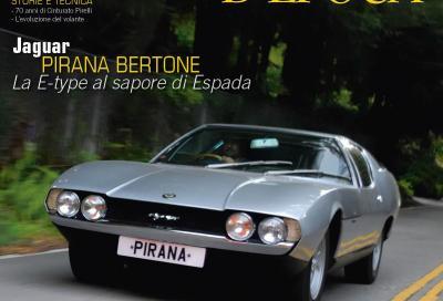 Jaguar Pirana, la E-type carrozzata da Bertone come una Lamborghini Espada