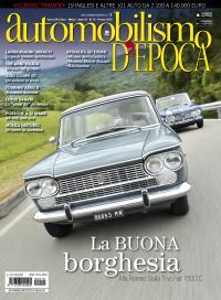 Giulia e 1500 sulla copertina di Automobilismo d'epoca