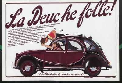 Compie 40 anni la Citroën 2 CV Charleston