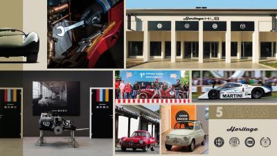 FCA Heritage festeggia i suoi primi 5 anni