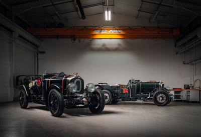 "È pronta ""Car Zero"", la Bentley ""Blower"" costruita 90 anni dopo"