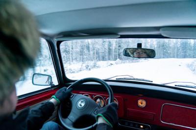Il regalo più bello per Rauno Aaltonen: una Mini per dare gas sulla neve