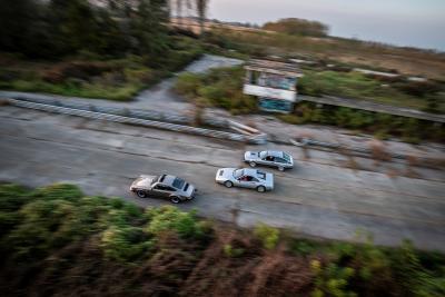 Tre Gran Turismo a Casale