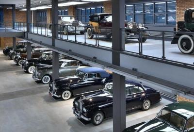"""""""Passione per l'eleganza"""": all'asta una collezione di 25 Bentley e Rolls-Royce (e un motore d'aereo)"""