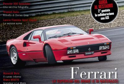 Ferrari 288 GTO: la supercar di Maranello protagonista di copertina del nuovo numero