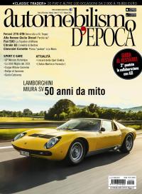 Lamborghini Miura SV protagonista della copertina di Automobilismo d'epoca