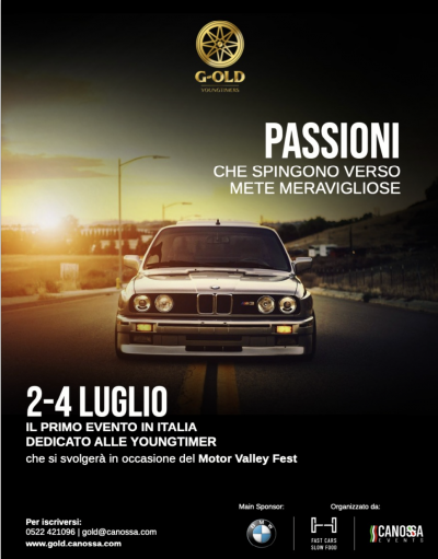 Old but G-Old, nuovo evento per sole Youngtimer
