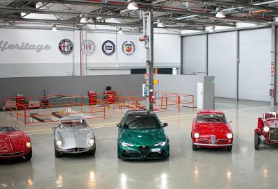 Alfa Romeo ed Heritage portano alla 1000 Miglia quattro vetture sbalorditive