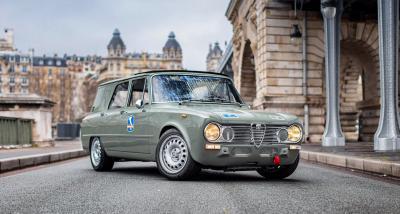 Provate a non innamorarvi di questa Alfa Romeo Giulia 'Familiare Polizia'