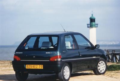 La Peugeot 106 spegne 30 candeline