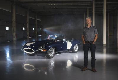 Damon Hill omaggerà la E-Type e suo padre Graham guidando la EDC 400