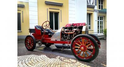 Eccezionale restauro per la Fiat 130 HP del 1907
