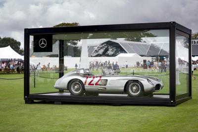 Mercedes espone a Silverstone la leggendaria 300 SLR